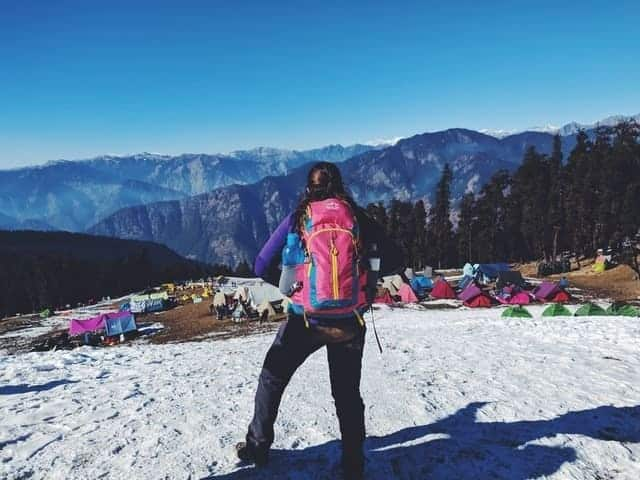 what to pack for winter camping to stay warm