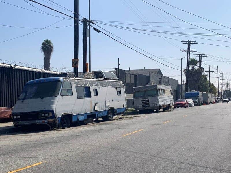 RV Parking On Residential Streets