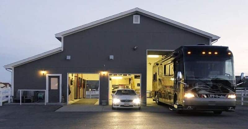 Parking RV on residential property